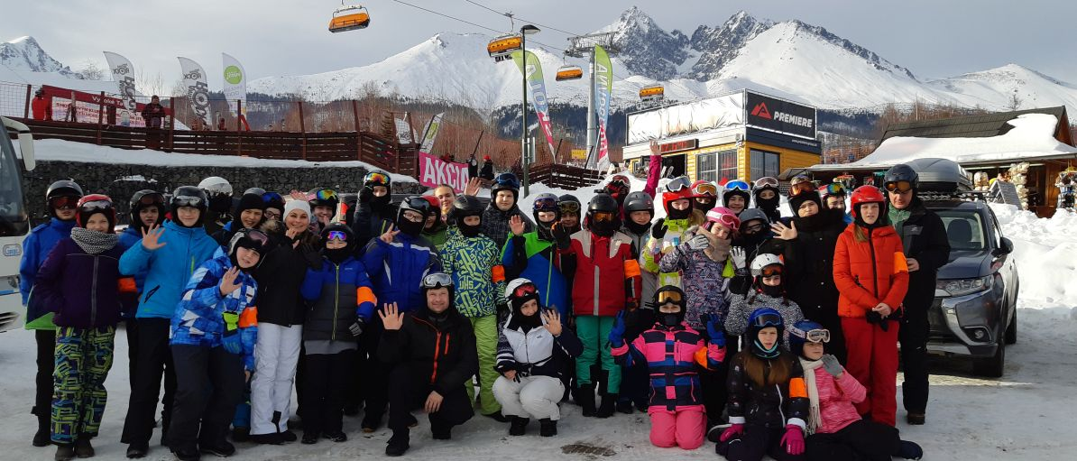 Naši lyžiari